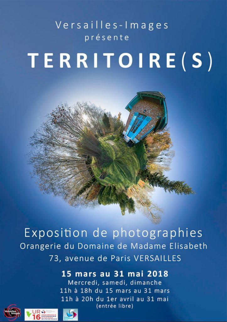 Affiche de l'exposition biennale de Versailles Images